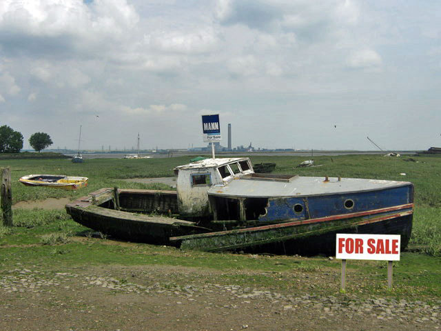 wreck for sale