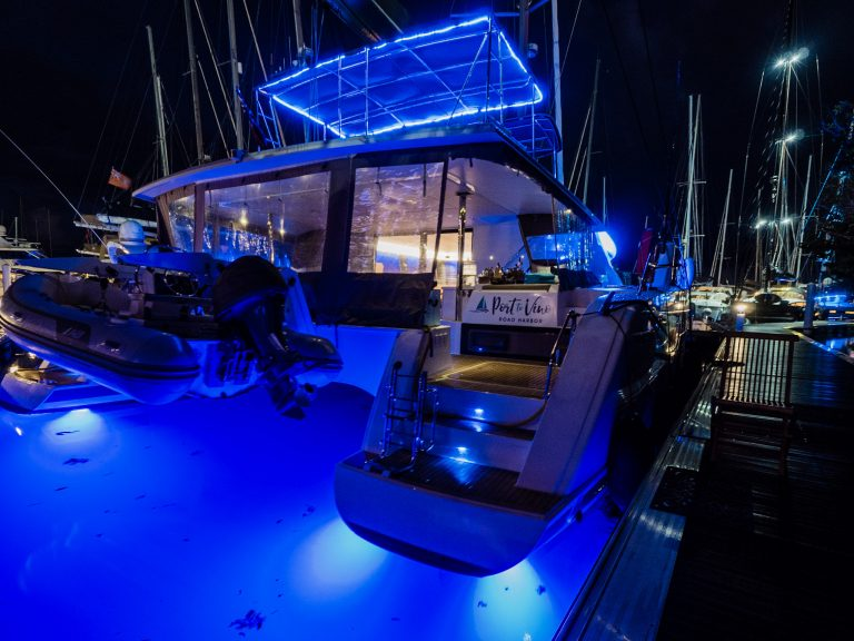 Charter Port to Vino Fontaine Pajot luxury catamaran, caribbean charters, sailing trips, regency yacht vacations, crewed yachts