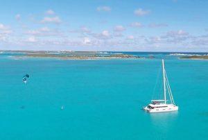trident yacht kite board